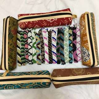 Tribal Pencilcase & pencil/pen cover