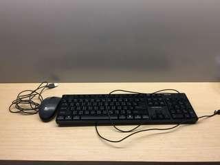 Keyboard and Mouse 只限青衣或南昌交收