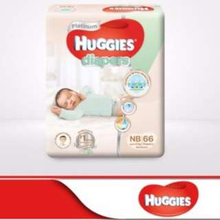 25% off 4packs of BN Huggies Newborn diapers