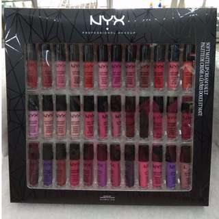 NYX LIPCREAM SET