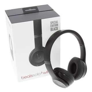 Beats solo 3 Wireless earphone
