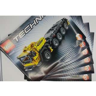 LEGO 42009 Instruction Book