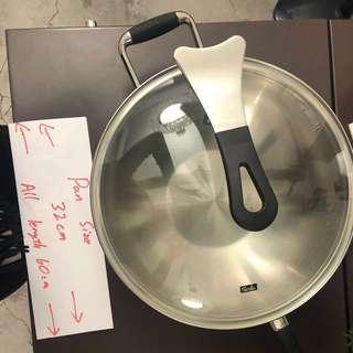 Wok 🍳 pan 抽獎禮物 高級煮食喎 Fissler