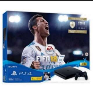 Trade in your old game consoles for FIFA 18 PS4 SLIM BUNDLE