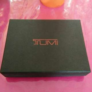 TUMI credit card wallet