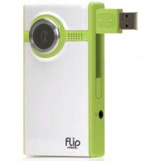 Flip Video Ultra series - 2 GB (video cam) green colour Video Camera