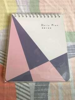 Daily Plan Book 計劃本