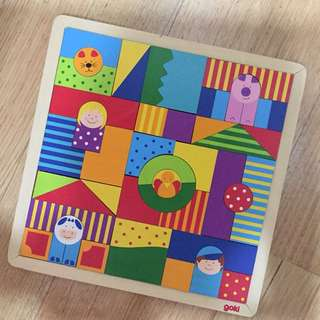Shapes Puzzle for Bigger Kid