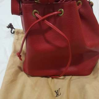 LV Bag Red