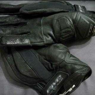 Five waterproof gloves
