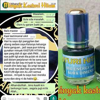 #22👍 Kasturi Kijang Hitam Bio - Magnetic Aura Dimensi  🌟 Customer's Feedback 🌟