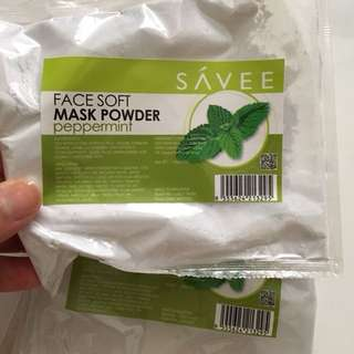 Peppermint mask powder
