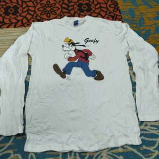 Disney goofy mickey mouse long shirt