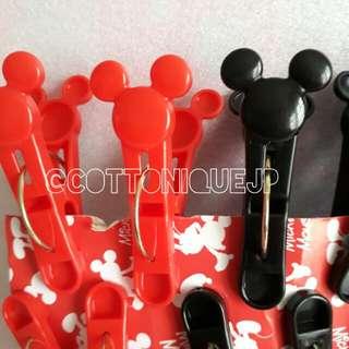 Jepit Jemuran / Kemasan Snack Mickey Mouse