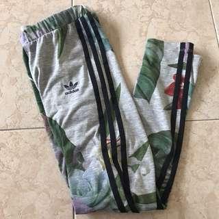 Adidas originals tropical floral leggings