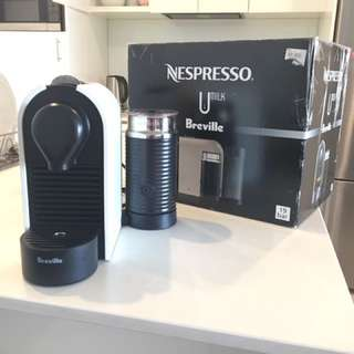 Breville Nespresso Coffee Pod Machine