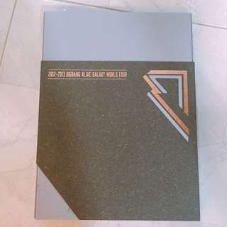 Bigbang alive galaxy world tour DVDs