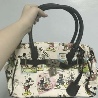 Mickey Mouse themed handbag from Disneyland Anaheim, California Souvenir Store (Never used)