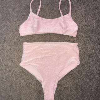 Bralette and bottoms set
