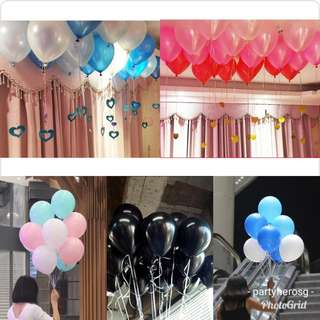 PartyHero balloons bouquets (FREE DELIVERY!)