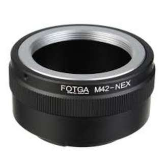 M42 Mount to Sony E Mount Camera Pro Adapter - Black (BRAND NEW)