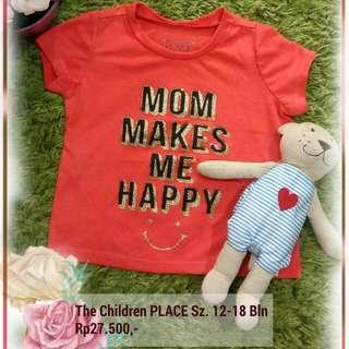 Kaos Anak The Children Place Size 12-18 Bln