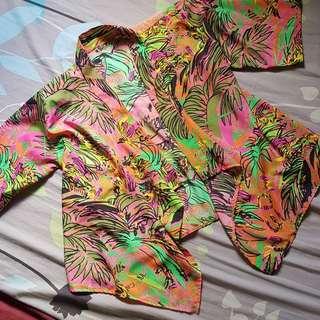 REPRICED Floral kimono