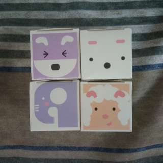 Animal Notepad Set