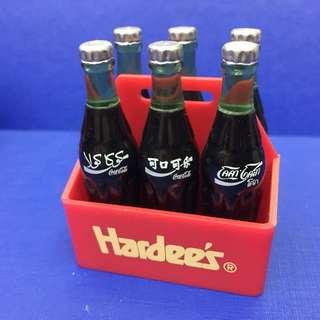 哈迪斯1997年可口可樂一套6枝連盤 6 國家