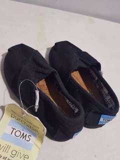 TOMS Classic Black Canvas