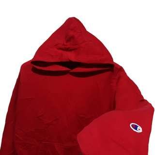 Hoodie jumper champion basic red