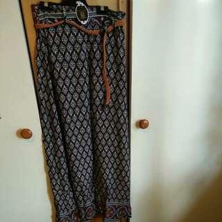 Maxi skirt size 8