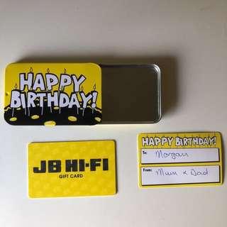NEW JB HI-FI $200 GIFT CARD💫