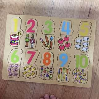 Numbers Puzzle