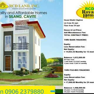 Single attach House and Lot