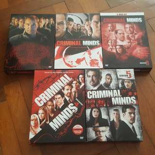 Criminal Minds (Season 1-5) DVD