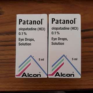 Brand new Patanol Eye Drops/Solution 5ml (expires 02.2020)
