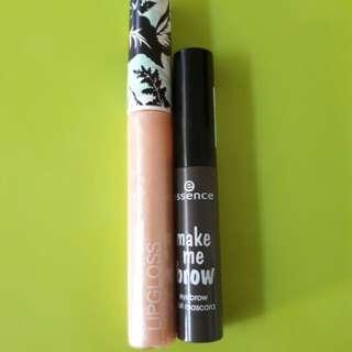 H&M lipgloss + essence Make Me Brown Lovebundle