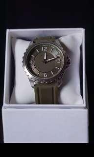 Rare Item - Fossil Men's Watch BQ1537, Army Green