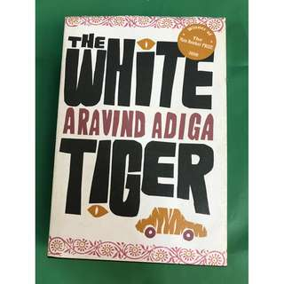 The White Tiger by Aravind Adiga (hardback)