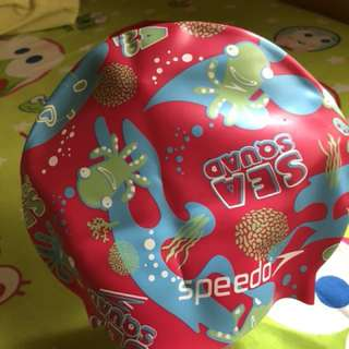 Topi renang speedo for kid