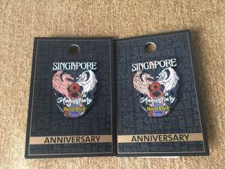Hard Rock Hotel Pin Anniversary