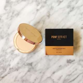 Pony Effect Skin Fit Powder Pact In Natural Ivory