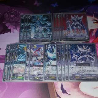 Cardfight Vanguard High Rarity Royal Paladin Blaster Deck