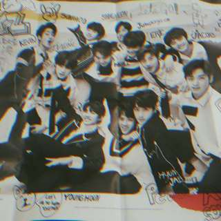 "THE BOYZ ""THE FIRST"" LIVE FOLDED POSTER"