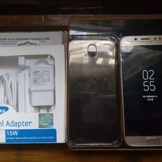 Samsung j7 pro GOLD + NEW FAST CHARGING CHARGER