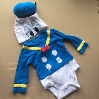 Original Disney Donald Duck Onesie