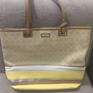 NineWest Yellow Tote