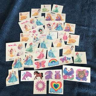 Tatoos 46 pcs.