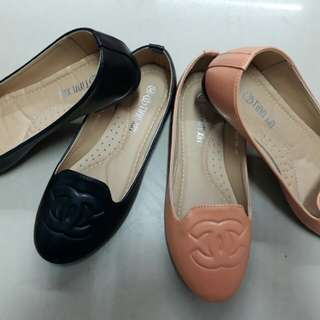 CHANEL INSPIRED FLAT SHOES
